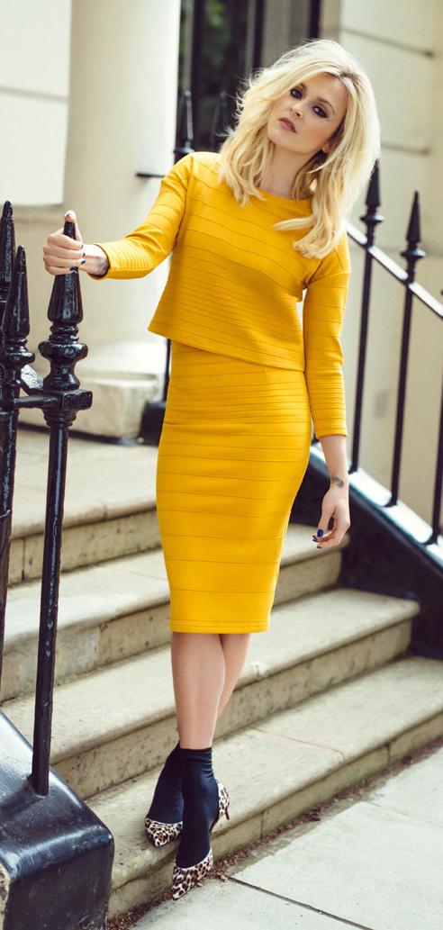 yellow-pencil-skirt-yellow-sweater-howtowear-style-fashion-spring-summer-fearnecotton-celebrity-match-leopard-tan-shoe-pumps-socks-blonde-dinner.jpg