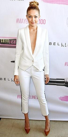 white-slim-pants-white-jacket-blazer-suit-bun-cognac-shoe-pumps-gigihadid-spring-summer-blonde-work.jpg