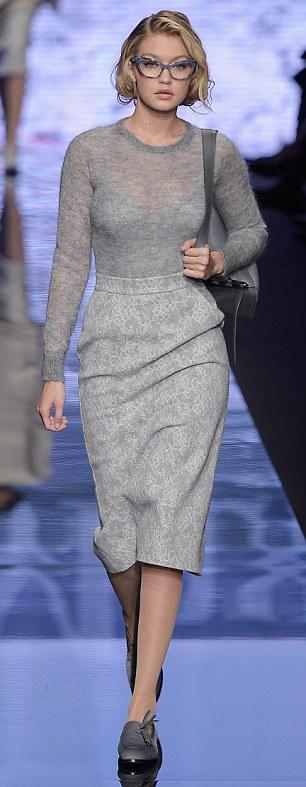 grayl-pencil-skirt-grayl-sweater-gray-shoe-loafers-gray-bag-mono-gigihadid-fall-winter-blonde-work.jpg