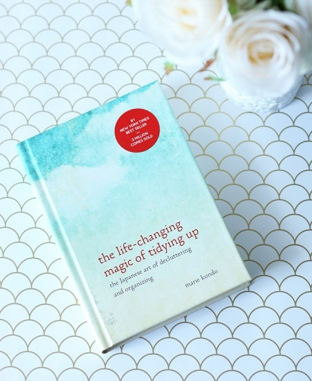 The Life-Changing Magic of Tidying Up by Marie Kondo, $10 at Amazon -