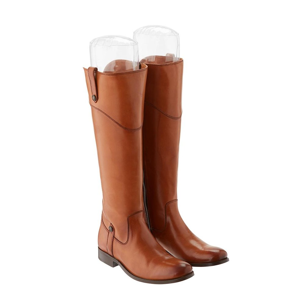 Clear Inflatable Boot Shapers, $5 at The Container Store - These easy to inflate clear boot shapers contour to the shape of your boots.
