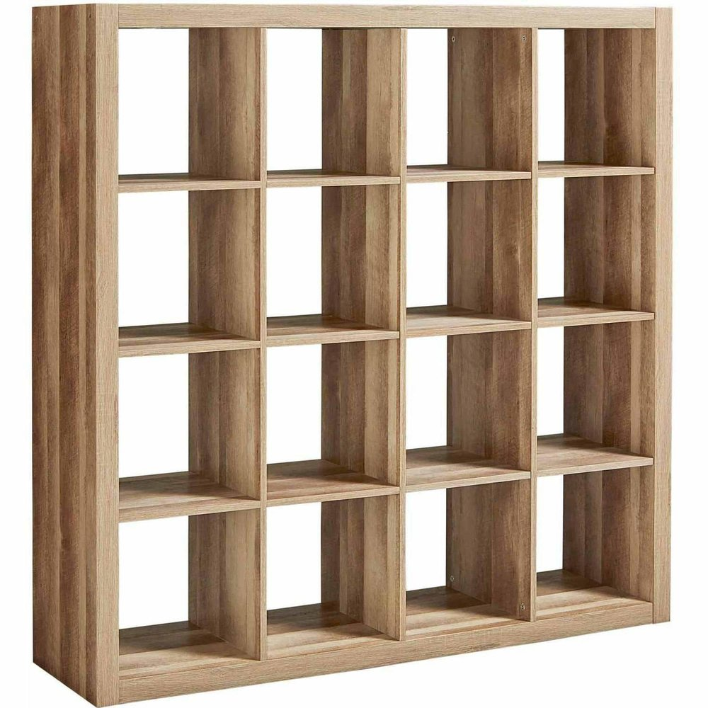 Modern Sixteen Square Cubbies Weathered Closet Storage Unit, $284 at Amazon - This is a great wall-sized shelving unit and it comes in white, tan and black!