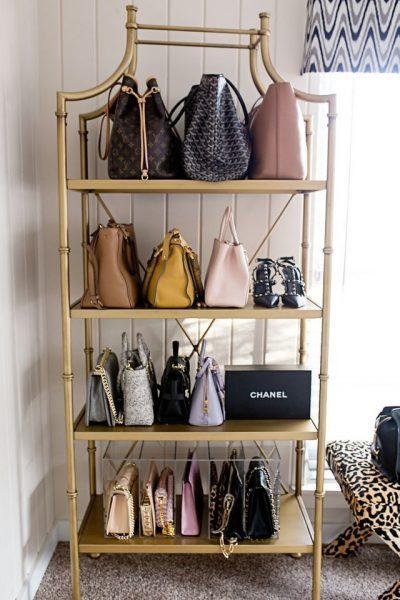 bookshelf-how-to-organize-your-handbags-closet-shelves-wall-gold.jpg