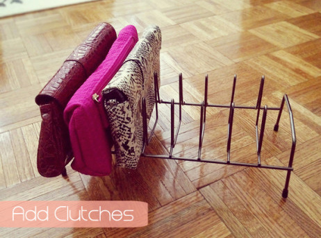 clutches-shelves-display-bookshelf-how-to-organize-your-handbags-closet-slots-use-lid-rack-from-kitchen.jpg