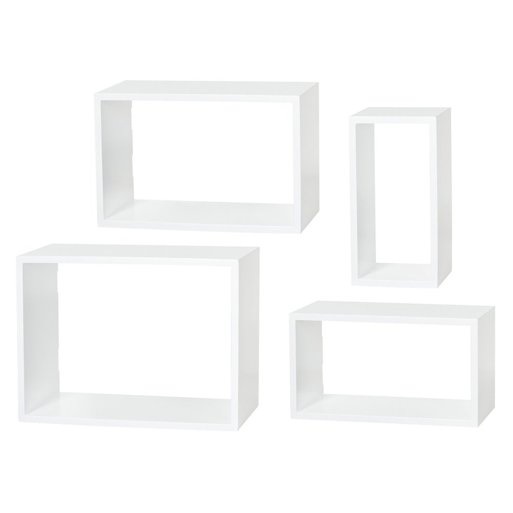 Dolle Windows Floating Shelf Set, $90 at Target - Try these cubbie units that attach to the wall, you can arrange them any way you like!
