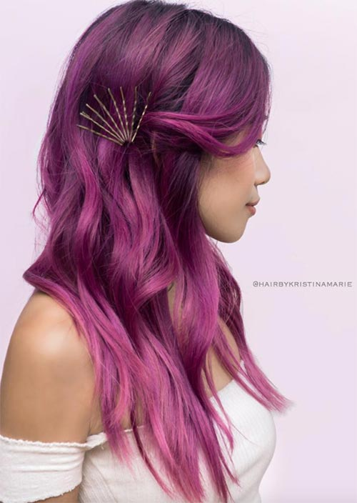 how-to-style-hair-accessories-bobby-pin-hairstyles-ways-to-wear-behind-ear-pink-purple.jpg