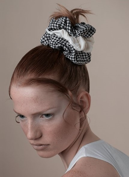 how-to-style-hair-accessories-scrunchies-hairstyles-ways-to-wear-ponytail-layered-bun-gingham-print.jpg