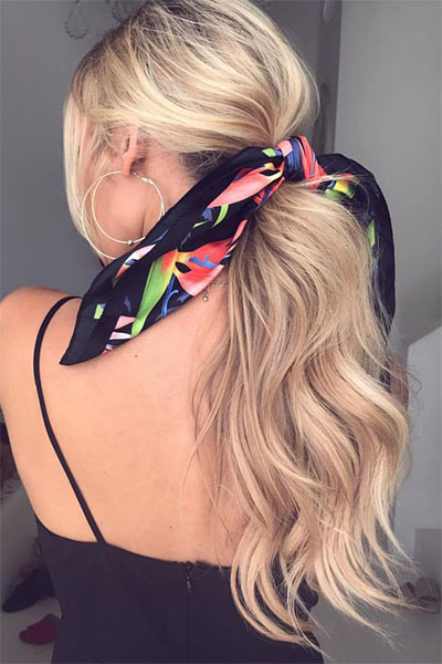 how-to-style-hair-accessories-scarf-scarves-bandana-silk-ponytail-print-blonde-long.jpg