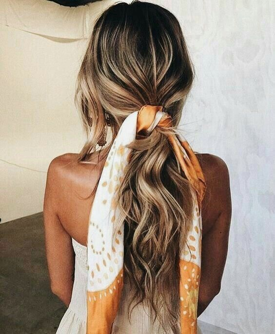how-to-style-hair-accessories-scarf-scarves-bandana-silk-ponytail-print-orange-.jpg