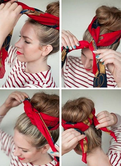 how-to-style-hair-accessories-scarf-scarves-bandana-silk-sock-bun-red.jpg