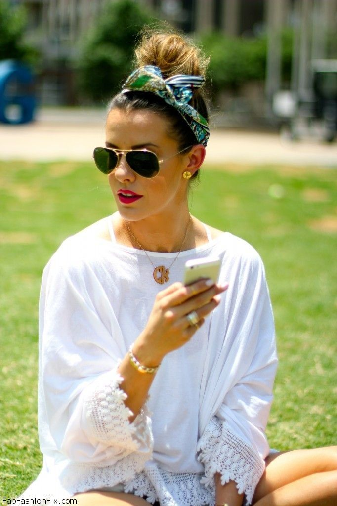 how-to-style-hair-accessories-scarf-scarves-bandana-silk-bun-topknot-tied-summer-picnic.jpg