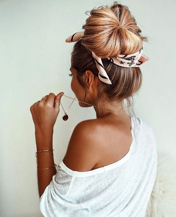 how-to-style-hair-accessories-scarf-scarves-bandana-silk-big-messy-bun-tied.jpg