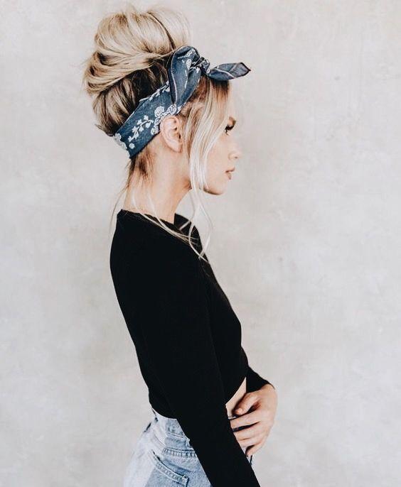 how-to-style-hair-accessories-scarf-scarves-bandana-silk-blue-bandana.jpg