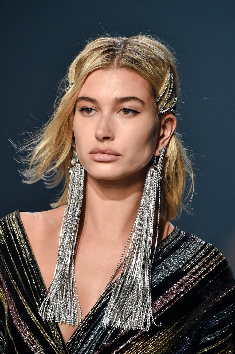 one-side-how-to-style-hair-accessories-clip-barrettes-earrings-silver-long-sparkle.jpg