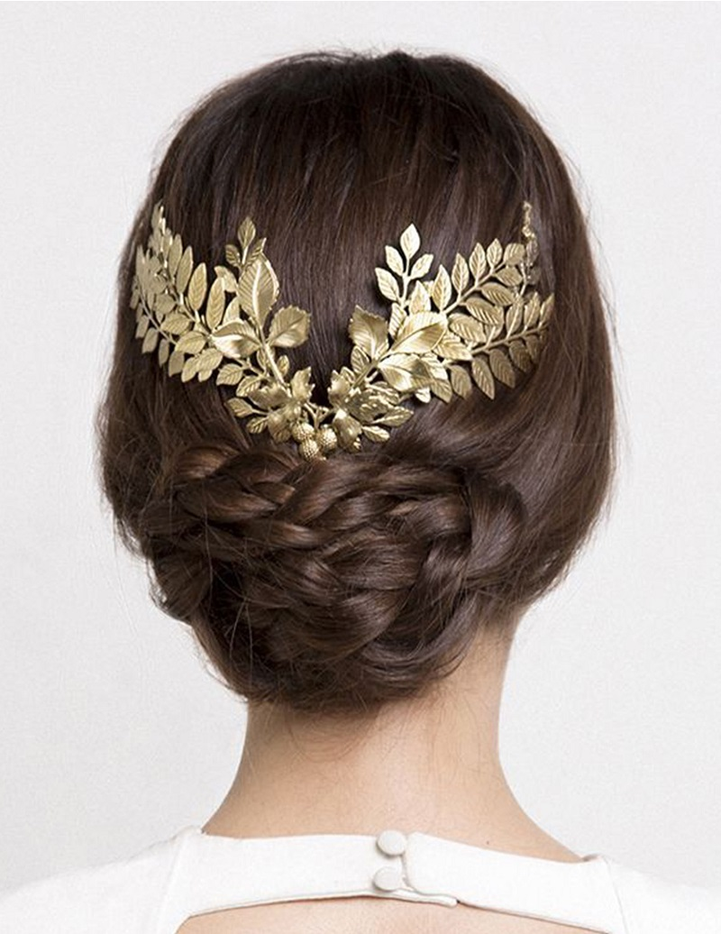 bun-decoration-how-to-style-hair-accessories-gold-braid-leaves.jpg