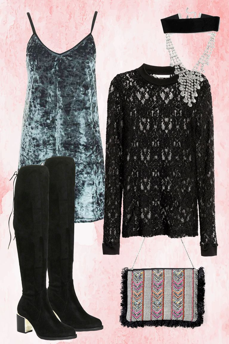 blue-light-dress-slip-velvet-layer-black-sweater-necklace-black-shoe-boots-lace-fall-winter-thanksgiving-outfits-dinner.jpg