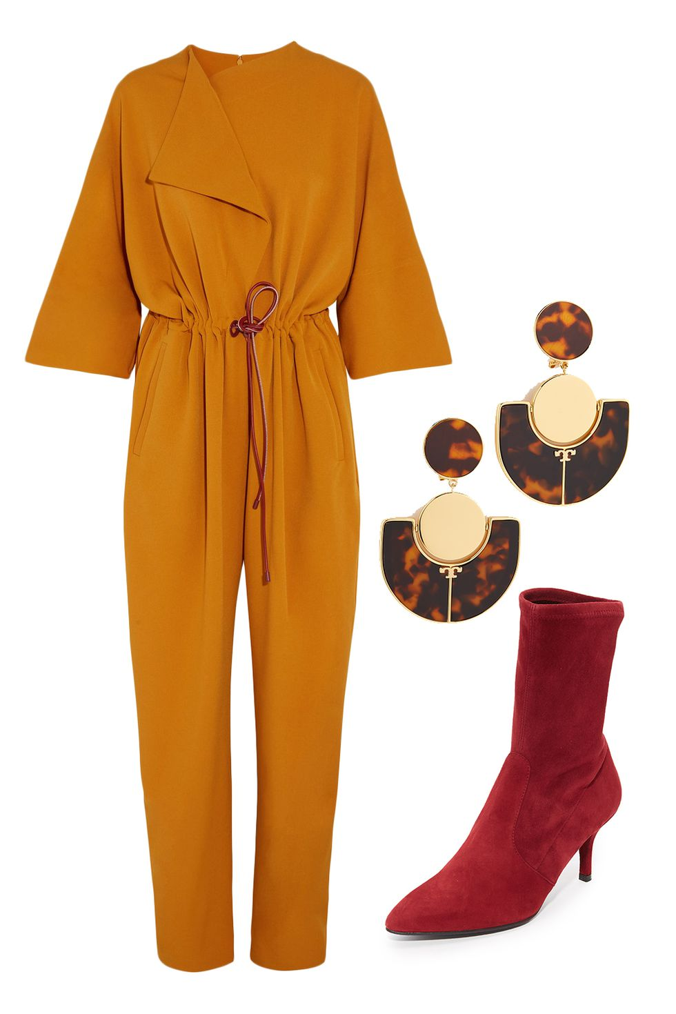 yellow-jumpsuit-earrings-red-shoe-booties-fall-winter-thanksgiving-outfits-holidays-dinner.jpg