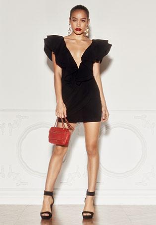 black-dress-mini-red-bag-earrings-black-shoe-sandalh-bun-brun-fall-winter-nye-party-dinner.jpg