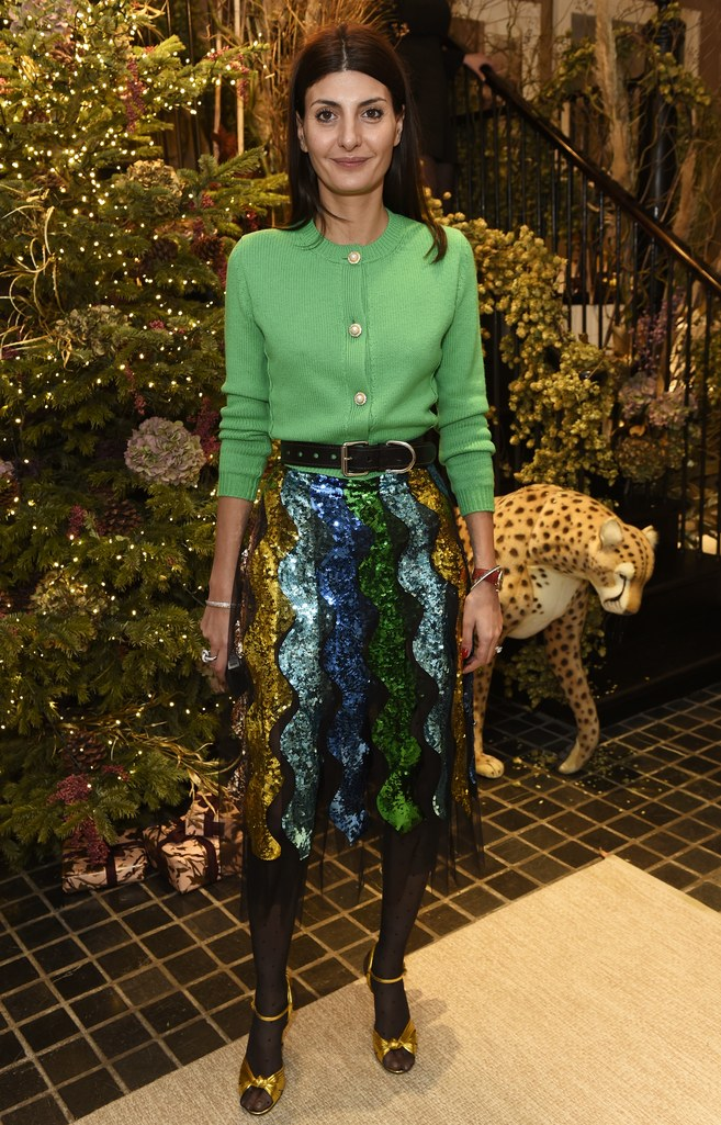 green-emerald-cardigan-belt-brun-black-tights-yellow-shoe-sandalh-gold-sequin-skirt-fall-winter-nye-party-dinner.jpg