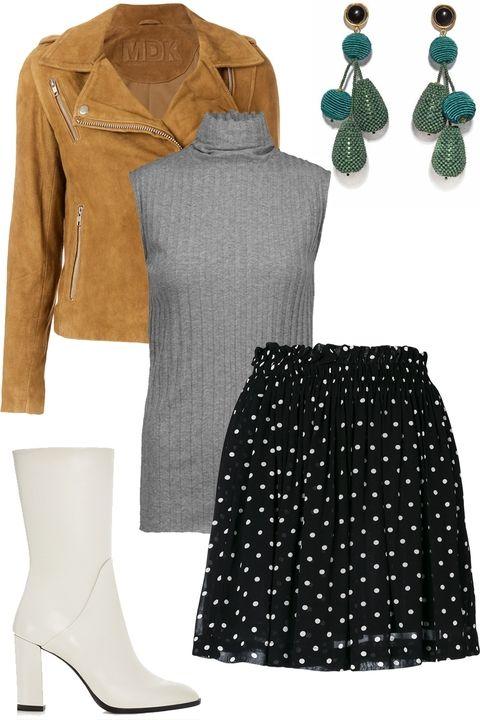 black-mini-skirt-dot-print-grayl-sweater-sleeveless-turtleneck-earrings-white-shoe-booties-thanksgiving-outfit-camel-jacket-moto-fall-winter-dinner.jpg
