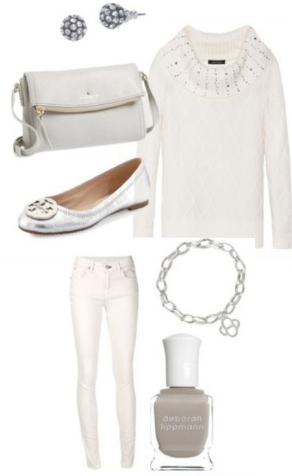 white-skinny-jeans-white-sweater-studs-bracelet-white-bag-nail-gray-shoe-flats-metallic-howtowear-fashion-style-outfit-fall-winter-holiday-lunch.jpg