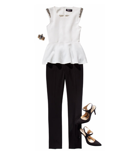 black-slim-pants-white-top-peplum-black-shoe-pumps-bracelet-officeaddblazerday-holiday-howtowear-fashion-style-outfit-fall-winter-work-dinner.jpg