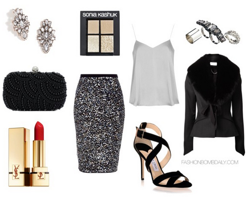 grayd-pencil-skirt-white-cami-black-jacket-tweed-style-outfit-fall-winter-holidays-party-studs-black-bag-clutch-strappy-sparkle-dinner.jpg
