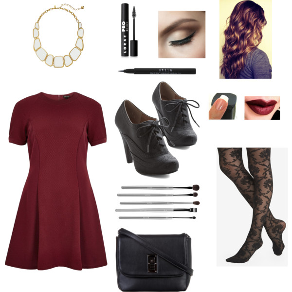 r-burgundy-dress-black-shoe-booties-black-tights-black-bag-howtowear-fashion-style-outfit-fall-winter-booties-mini-bib-necklace-holidays-hairr-dinner.jpg
