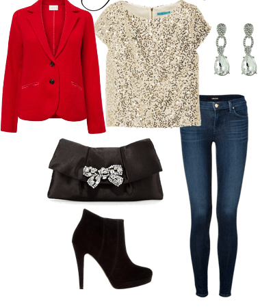 blue-navy-skinny-jeans-tan-top-sequin-red-jacket-blazer-black-bag-clutch-black-shoe-booties-earrings-howtowear-fashion-style-outfit-fall-winter-holiday-dinner.jpg