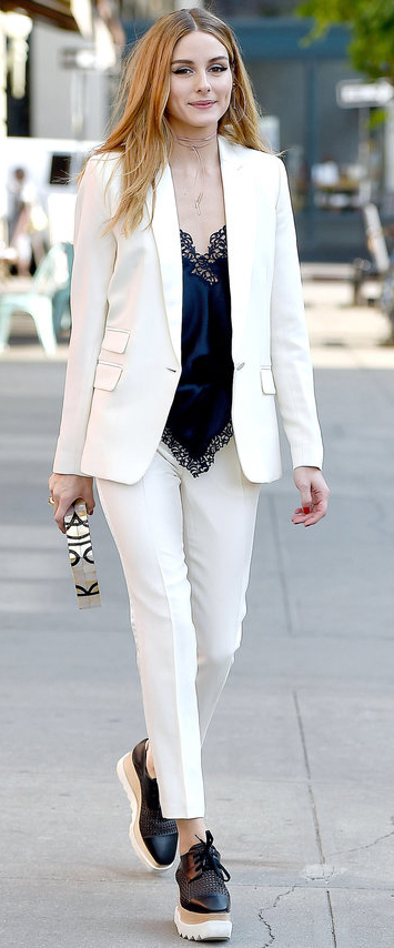 white-slim-pants-blue-navy-cami-white-jacket-blazer-suit-silk-black-shoe-brogues-white-bag-clutch-hairr-choker-oliviapalermo-style-outfit-fall-winter-holiday-dinner.jpg