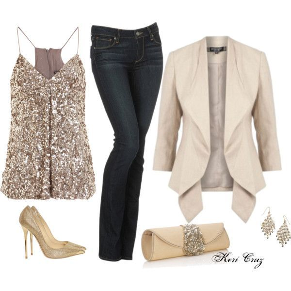 blue-navy-skinny-jeans-white-cami-sequin-white-jacket-blazer-earrings-white-bag-clutch-tan-shoe-pumps-howtowear-fashion-style-outfit-fall-winter-holiday-dinner.jpg