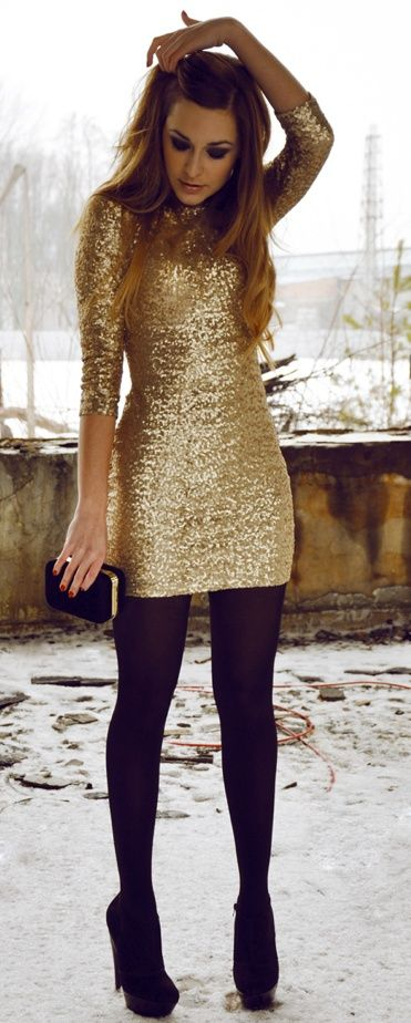 o-tan-dress-sequin-black-tights-black-shoe-pumps-black-bag-clutch-hairr-howtowear-fashion-style-outfit-fall-winter-holiday-dinner.jpg