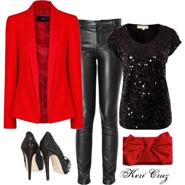 black-skinny-jeans-black-top-sequin-red-jacket-blazer-red-bag-clutch-black-shoe-pumps-howtowear-fashion-style-outfit-fall-winter-holiday-leather-dinner.jpg