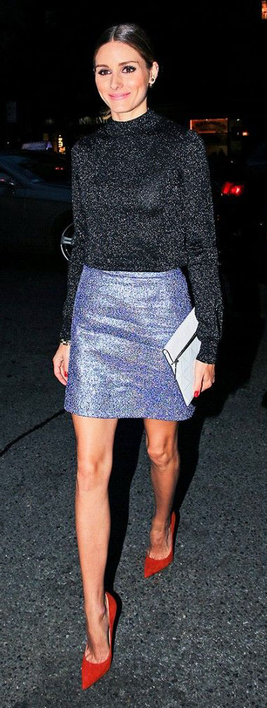 blue-med-mini-skirt-black-top-bun-hairr-red-shoe-pumps-white-bag-clutch-newyearseve-sequin-metallic-party-oliviapalermo-howtowear-fashion-style-outfit-fall-winter-holiday-dinner.jpg