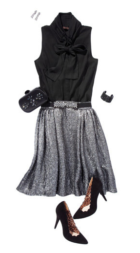 grayl-aline-skirt-black-top-bow-black-bag-clutch-black-shoe-pumps-howtowear-fashion-style-outfit-fall-winter-holiday-bracelet-dinner.jpg