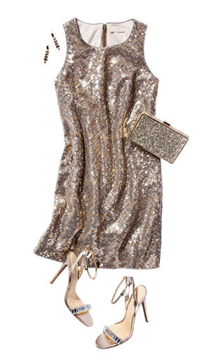 o-tan-dress-shift-sequin-earrings-tan-bag-clutch-tan-shoe-sandalh-shimmery-howtowear-fashion-style-outfit-fall-winter-holiday-dinner.jpg