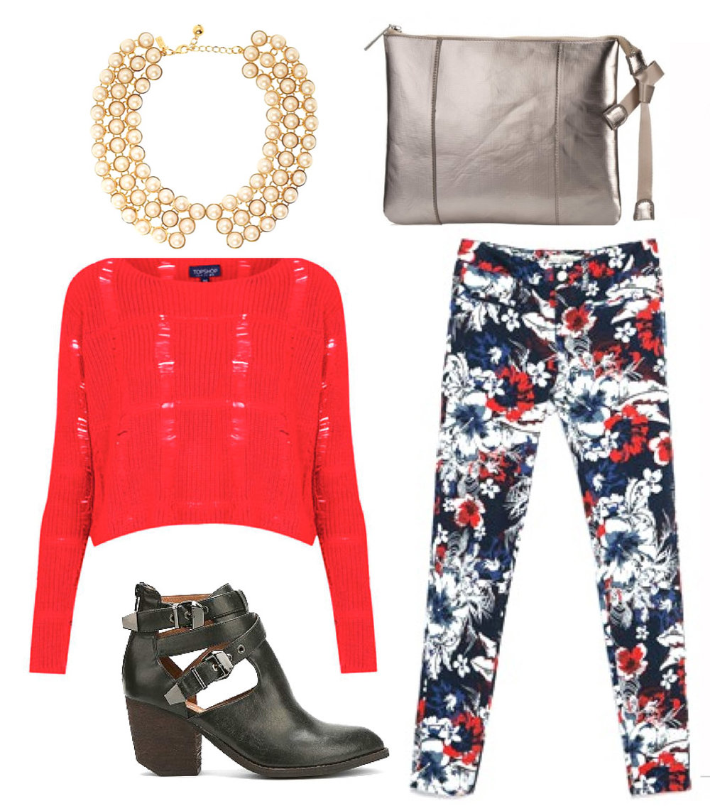 red-sweater-necklace-black-shoe-booties-floral-print-howtowear-valentinesday-outfit-fall-winter-lunch.jpg