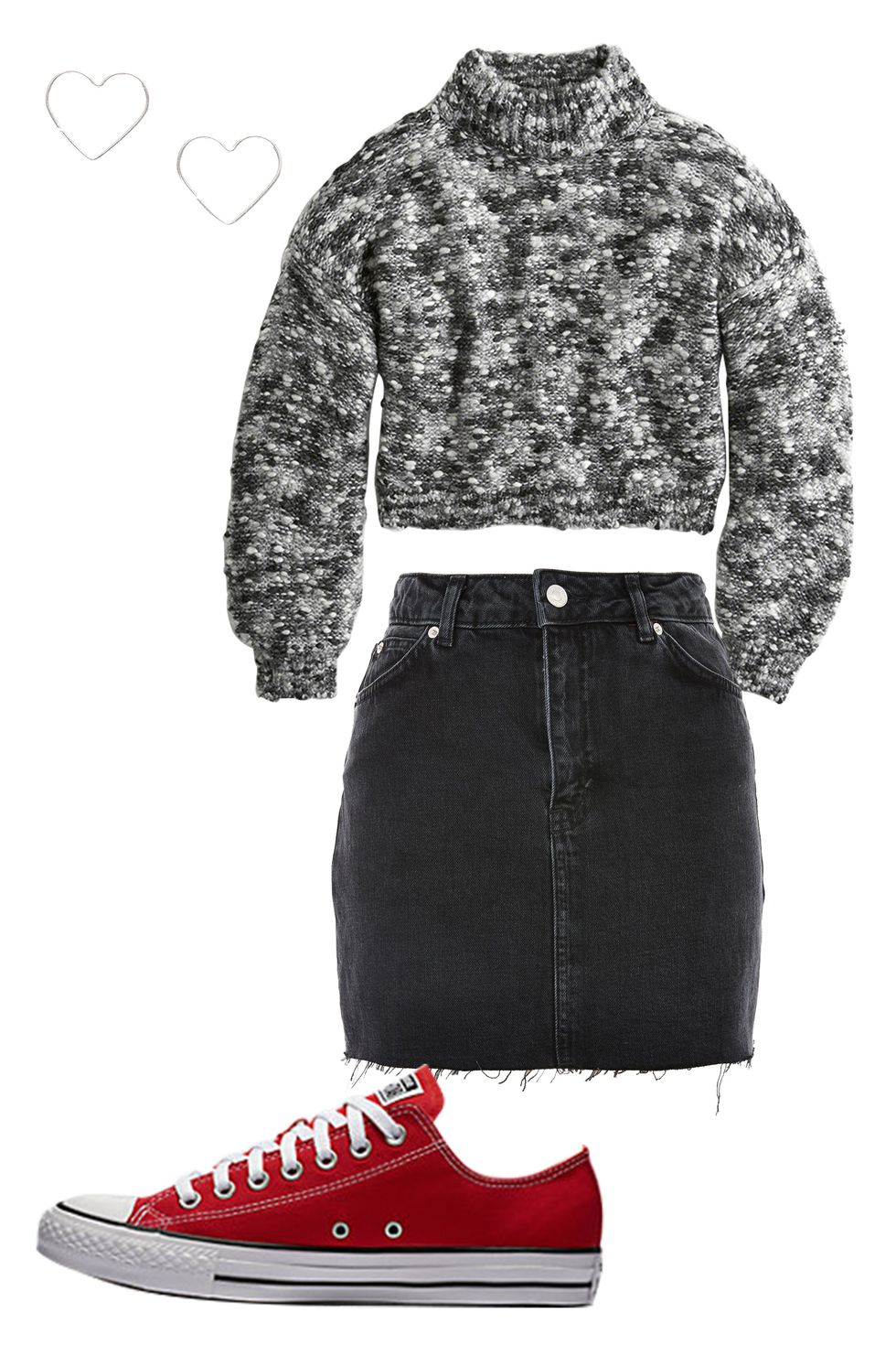 black-mini-skirt-red-shoe-sneakers-converse-grayl-sweater-howtowear-valentinesday-outfit-fall-winter-lunch.jpg