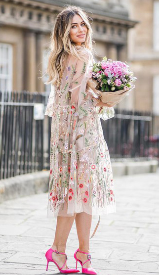 white-dress-swing-sheer-seethrough-floral-print-blonde-pink-shoe-pumps-howtowear-valentinesday-outfit-fall-winter-dinner.jpg