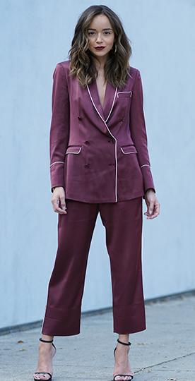 burgundy-culottes-pants-suit-pajamas-burgundy-jacket-blazer-brun-black-shoe-sandalh-howtowear-valentinesday-outfit-fall-winter-dinner.jpg