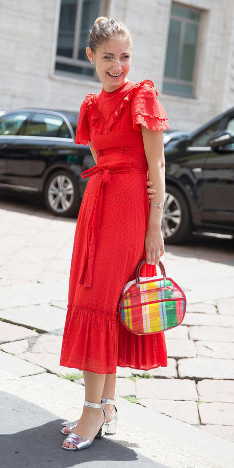 red-dress-midi-peasant-gray-shoe-sandals-blonde-bun-howtowear-valentinesday-outfit-fall-winter-dinner.jpg