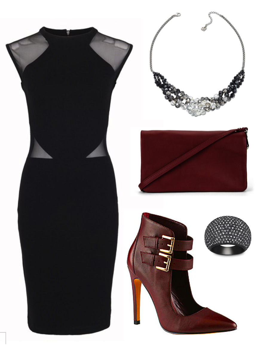 black-dress-bodycon-burgundy-shoe-pumps-burgundy-bag-bib-necklace-ring-howtowear-valentinesday-outfit-fall-winter-dinner.jpg