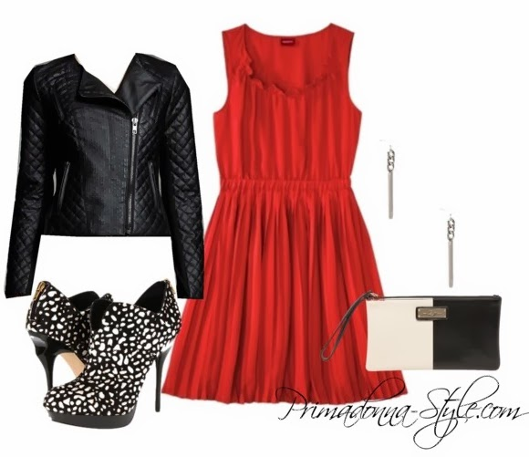red-dress-aline-black-jacket-moto-black-shoe-booties-white-bag-clutch-howtowear-valentinesday-outfit-fall-winter-dinner.jpg