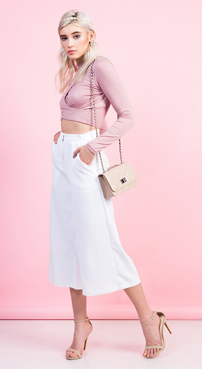 white-culottes-pants-pink-light-crop-top-tan-bag-tan-shoe-sandalh-blonde-head-howtowear-valentinesday-outfit-fall-winter-dinner.jpg