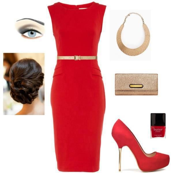 red-dress-bodycon-belt-bib-necklace-red-shoe-pumps-tan-bag-clutch-nail-bun-brun-howtowear-valentinesday-outfit-fall-winter-dinner.jpg