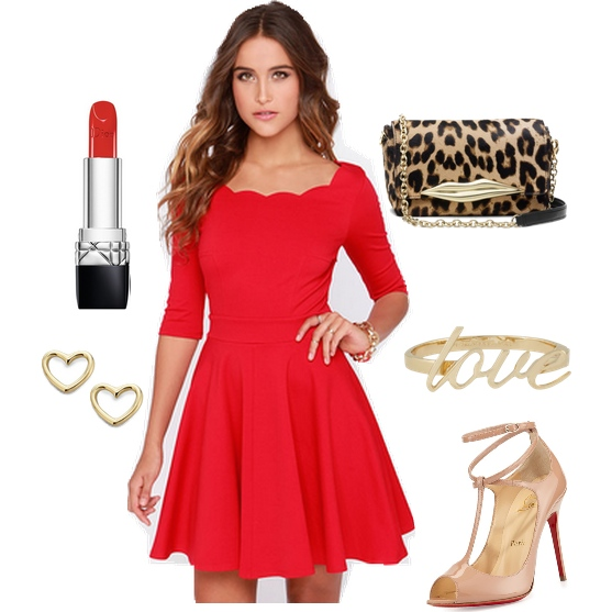 red-dress-mini-leopard-print-tan-bag-heart-earrings-tan-shoe-sandalh-howtowear-valentinesday-outfit-fall-winter-dinner.jpg