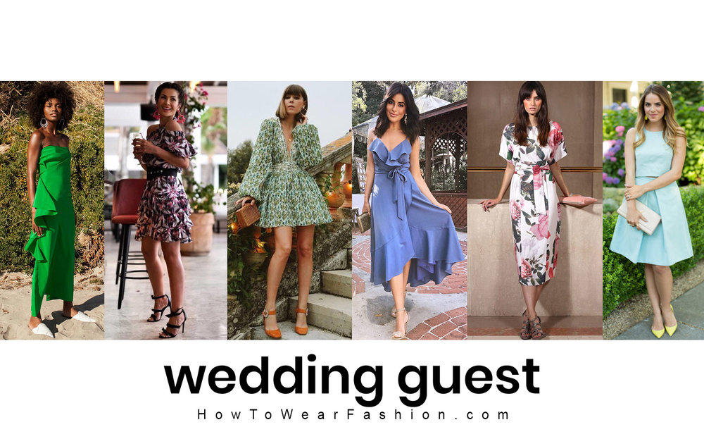 What to wear to attend a summer wedding - see ideas for wedding guest outfits, hair & makeup!