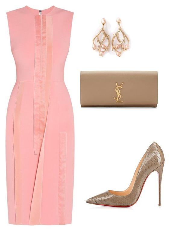 what-to-wear-for-a-summer-wedding-pink-light-dress-shift-earrings-tan-bag-clutch-tan-shoe-pumps-dinner.jpg