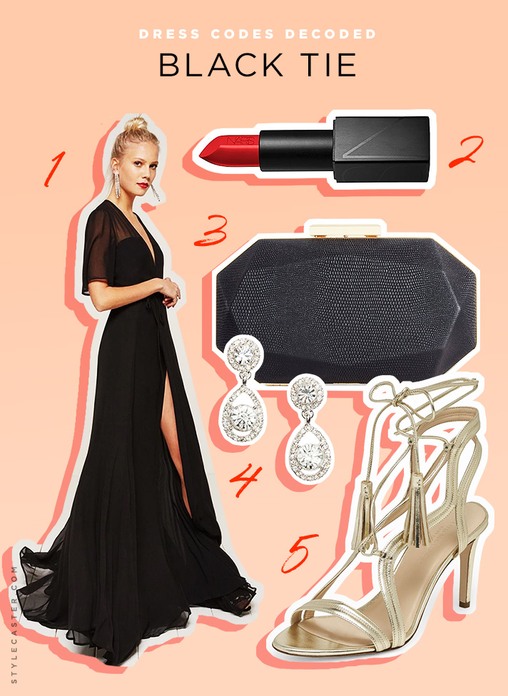 what-to-wear-for-a-summer-wedding-guest-outfit-black-tie-dress-code-black-dress-maxi-gown-tan-shoe-sandalh-gold-earrings-black-bag-clutch-dinner.jpg