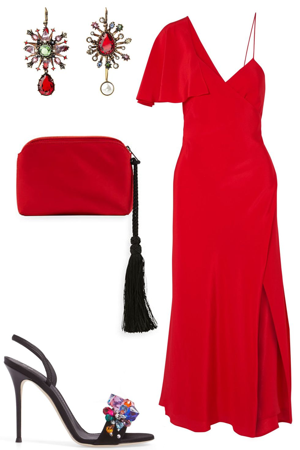 what-to-wear-for-a-summer-wedding-guest-outfit-red-dress-slip-midi-oneshoulder-earrings-red-bag-clutch-black-shoe-sandalh-dinner.jpg